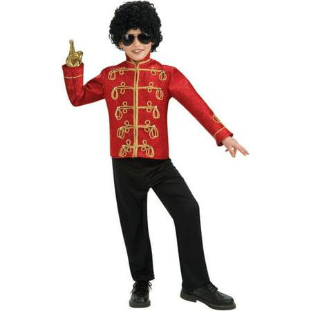 Morris Costumes Boys Michael Jackson Military Jacket Medium, Style RU884233MD - Michael Jackson Kids Glove