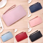 New Fashion Women Girls Leather Wallet Card Holder Phone Purse Long Handbag