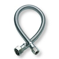 Fluidmaster No Burst Braided Stainless Steel Faucet Connector
