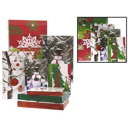 PK Douglass Folding Christmas Gift Boxes - Set of 8 - image 1 of 1 ...