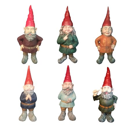 "Image of ""Homestyles Classic Old World Garden Gnome 20""""H Collectors Edition Assortment (1 pcs. Each 6 styles)"""