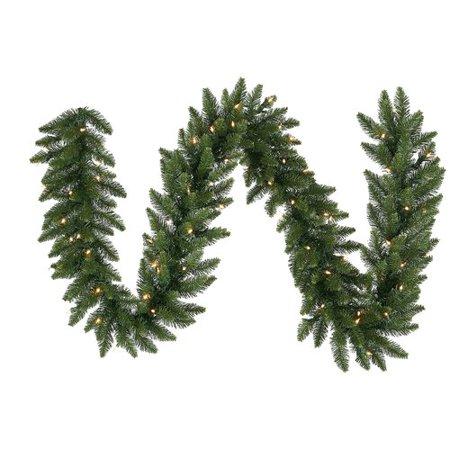Northlight Seasonal Pre Lit Eastern Pine Artificial Christmas Garland