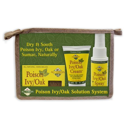 All Terrain Poison Ivy & Oak Solution, 3 Ct