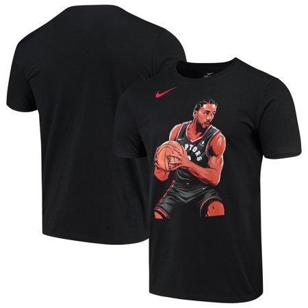 buy popular 0d964 ad8c1 Kawhi Leonard Toronto Raptors Nike 2019 NBA Playoffs Bound Hero T-Shirt -  Black