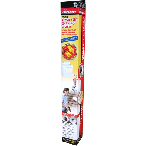 LintEater RLE202 The LintEater Dryer Vent Cleaning Kit