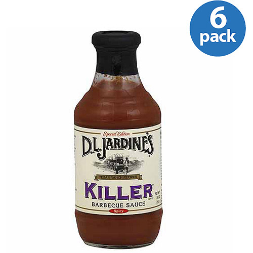 D.L. Jardine's Killer Spicy Barbecue Sauce, 18 oz, (Pack of 6)