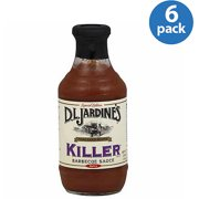 Jardines Killer Bbq Sauce, 18 Oz, (pack