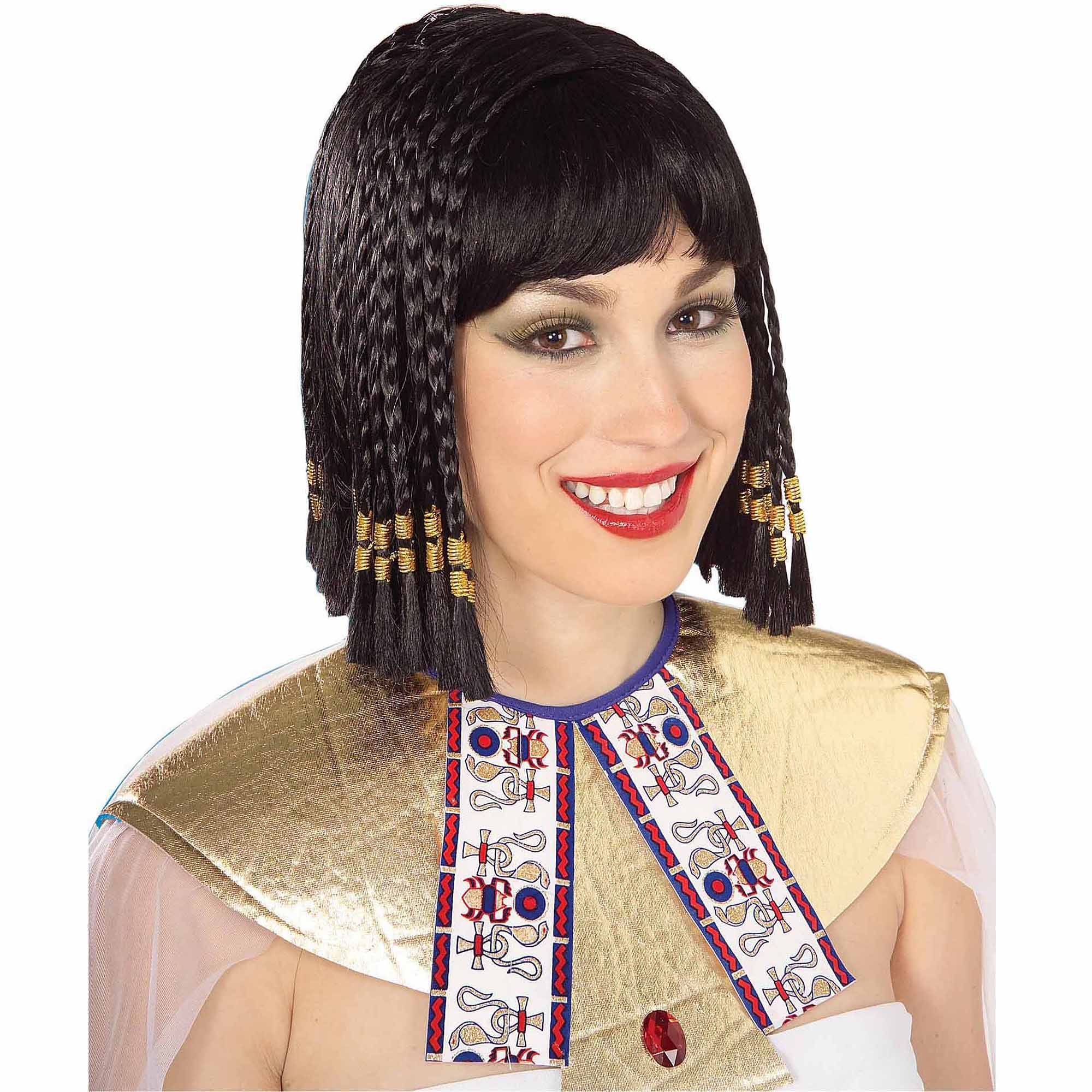Queen of the Nile Wig Adult Halloween Costume Accessory