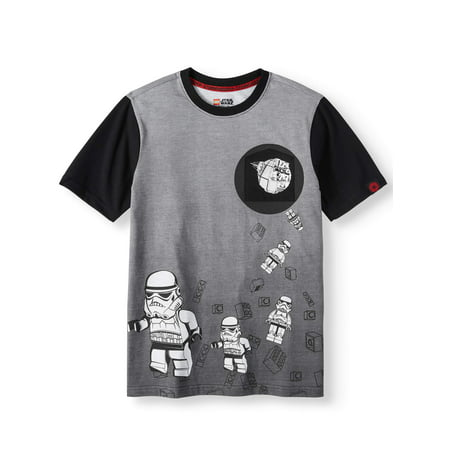 STAR WARS Storm Trooper Short Sleeve Pocket Tee (Little Boys & Big - Star Wars Outfits