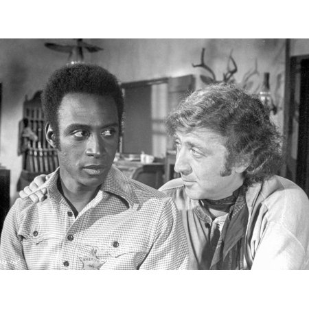 A scene from Blazing Saddles. Print Wall Art By Movie Star