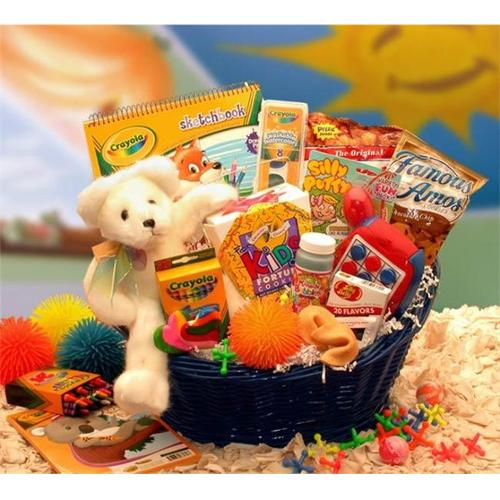 Gift Basket 890232 14'' x 10'' x 6'' Kids Stop Activity Gift Basket