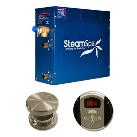 - Steam Spa OA750BN Steam Spa Oasis Package for Steam Spa 7.5kW Steam Generators; Brushed Nickel