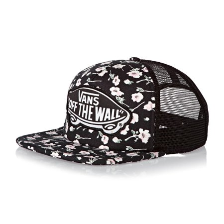 99fed1578d2 Vans - Vans Off The Wall Women s Beach Girl Trucker Hat Cap - Graphite  Floral - Walmart.com