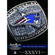 NFL America's Game: Patriots (Super Bowl Xxxvi) by