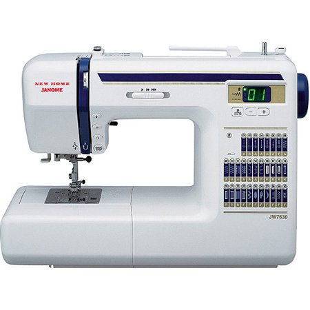 Janome JW7630 Computerized Easy-To-Use Sewing Machine with Aluminum ...