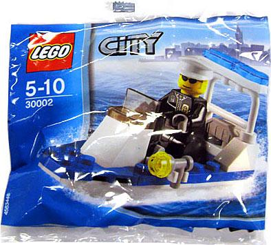 City Police Boat Mini Set LEGO 30002 [Bagged]