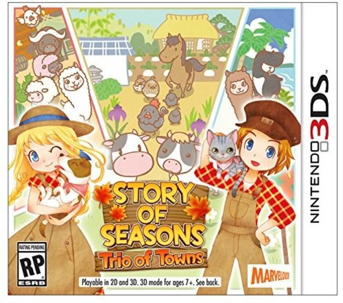 Marvalous Story of Seasons: Trio of Towns for Nintendo 3DS