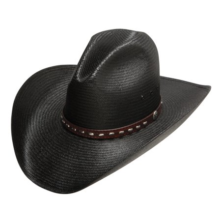on sale 815f1 0e8d1 Stetson Graydon Black Straw Hat SSGRAY