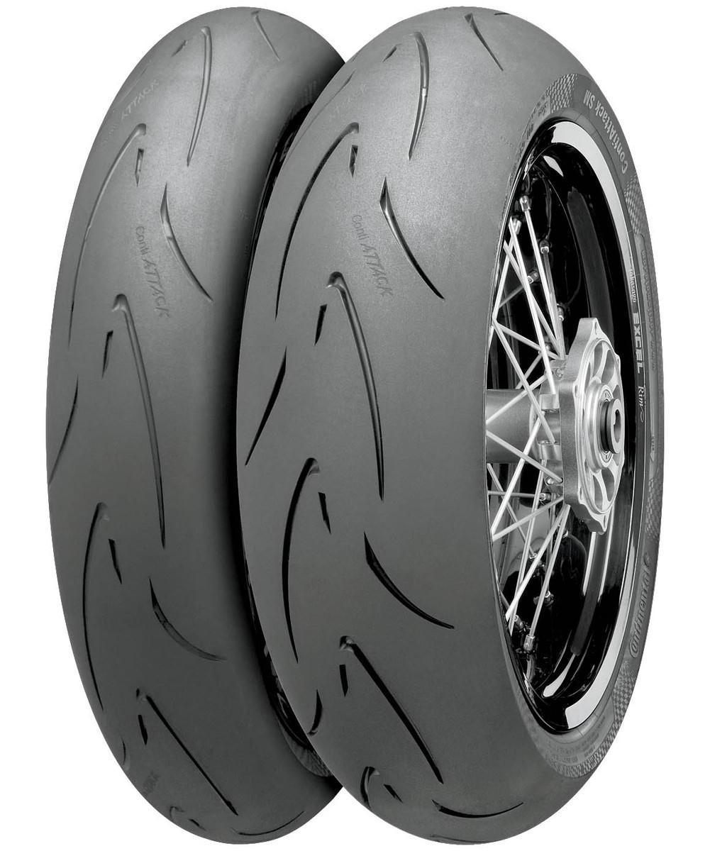 continental 02441140000 conti attack sm rear tire 150 60r 17. Black Bedroom Furniture Sets. Home Design Ideas
