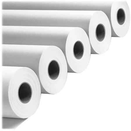PM, PMC09124, Premium Bond Wide Format Roll Paper, 2 / Carton, White