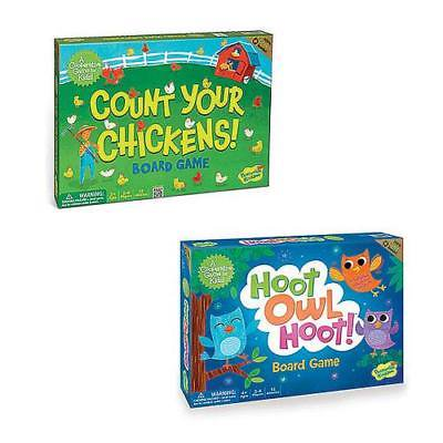 Count Your Chickens and Hoot Owl Hoot: Set of 2(13813274) - Count Your Chickens Game