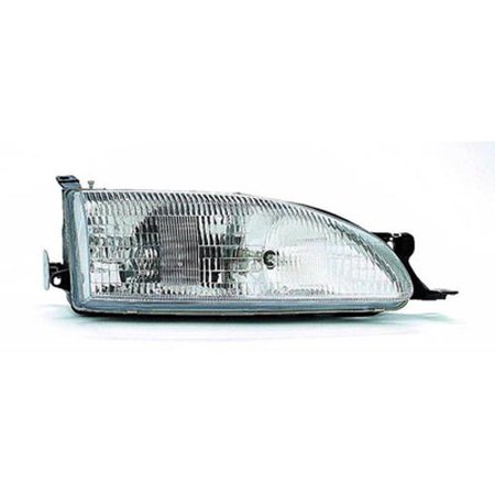 TO2503112 Right Headlamp Assembly Composite for 95-96 Toyota Camry