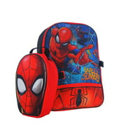 MARVEL SPIDER-MAN 16 INCH BACKPACK WITH LUNCH