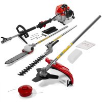 Stark 4 IN 1 Gas Pole Saw Multi Yard Chainsaw Hedge Trimmer Line Trimmer Brush Cutter Set