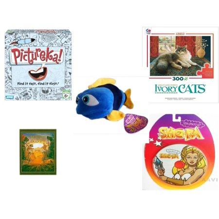 Children's Gift Bundle [5 Piece] -  Pictureka!  - Ivory Cats   - Sugarloaf s Fish  11