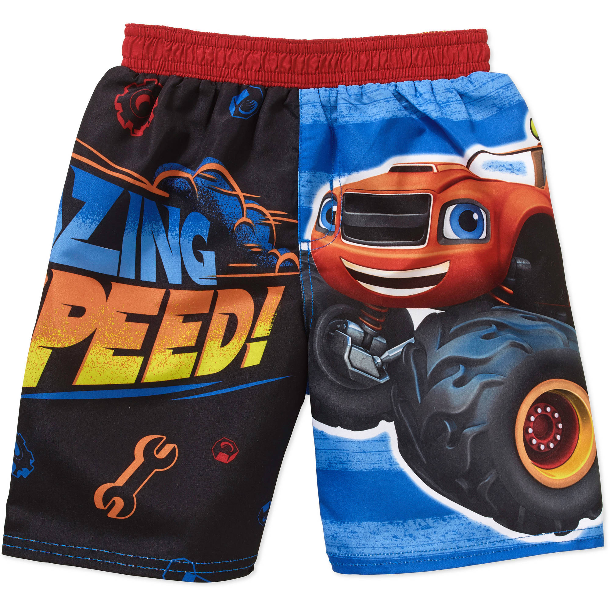 Nickelodeon Blaze and the Monster Machines Toddler Boy Swim Trunks Shorts