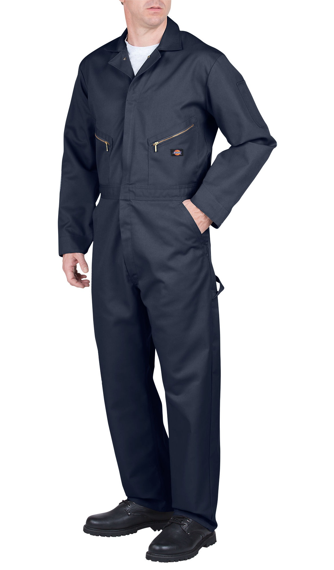 Mens Deluxe Blended Coverall, Dark Navy XL S by Dickies