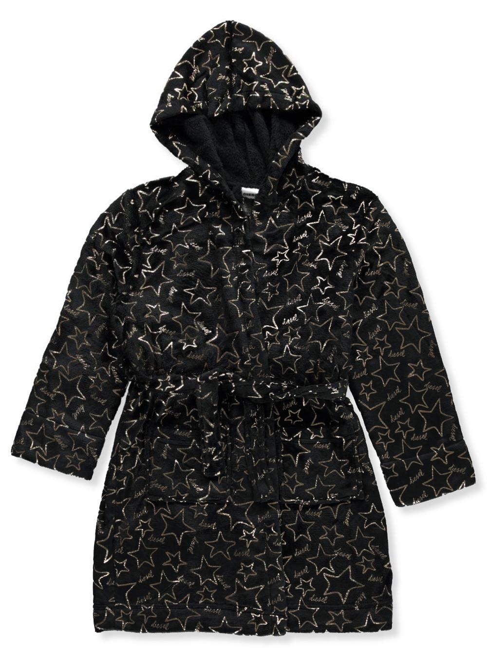 Diesel Girls' Hooded Robe