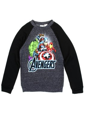 Avengers Little Boys' Lightweight Pullover Sweatshirt