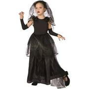 Dark Bride Child Halloween Dress Up / Role Play Costume