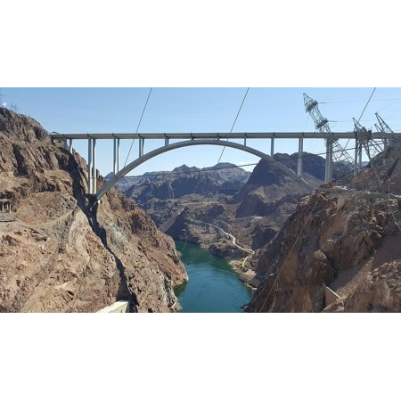 LAMINATED POSTER Hydroelectric Nevada Electricity Hoover Dam Usa Poster Print 24 x -