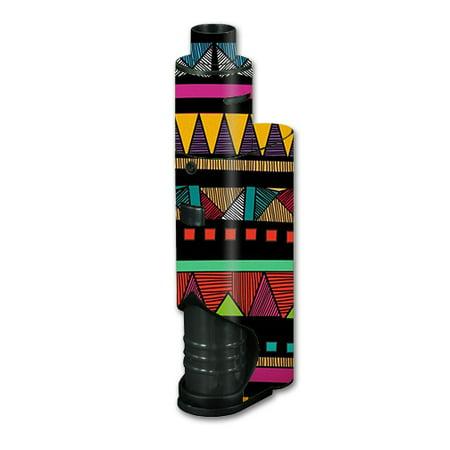 Skin Decal Vinyl Wrap For Kanger Dripbox Vape Mod Box / Aztec - Aztec Container