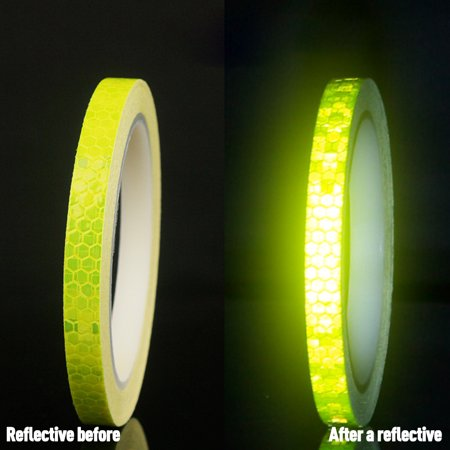 Bicycle Reflective Sticker Tape Noctilucent Waterproof Fluorescent Bike Decoration