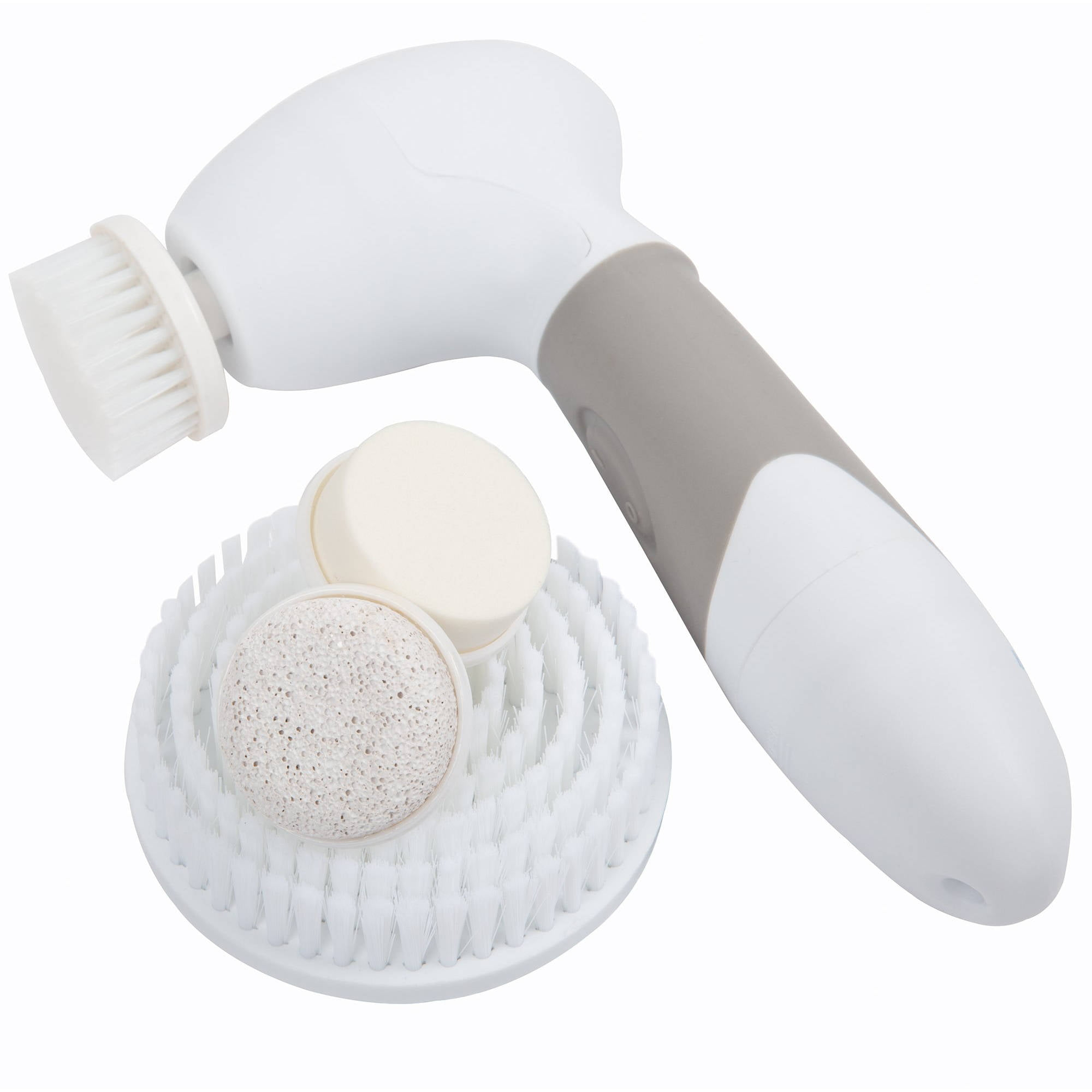 4 In 1 Waterproof Facial Cleaning Exfoliating Spin Brush Scrubber
