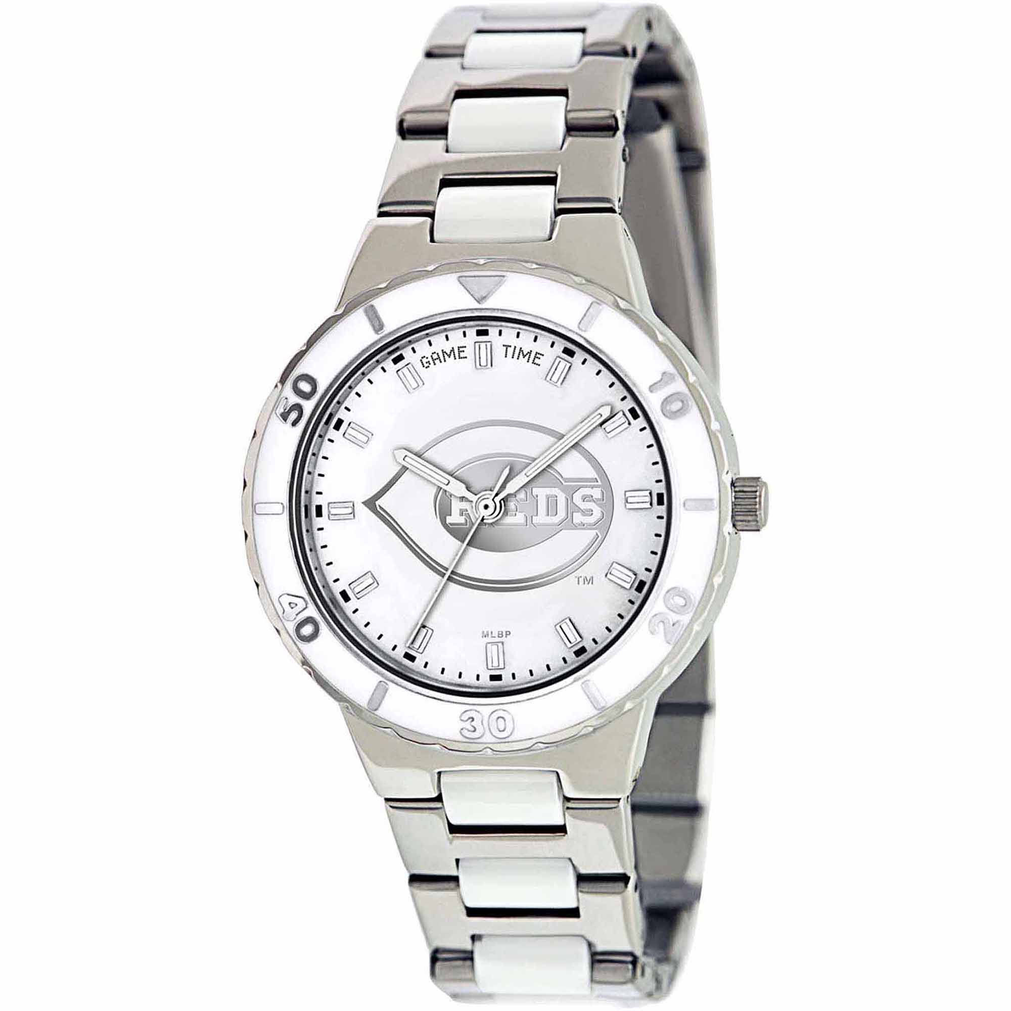 Game Time MLB Women's Cincinnati Reds Pearl Series Watch