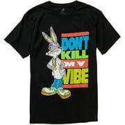Bugs Don't Kill My Vibe Men's Short Sleeve Graphic Tee