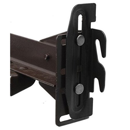 Hook Adapter - 35 Hook Plate Conversion Adapter Kit for Using a Bolt-On Frame with a Hook-On Headboard - Set of 2