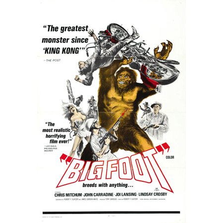Bigfoot Costume Movie Quality (Bigfoot POSTER (27x40) (1971) (Style)