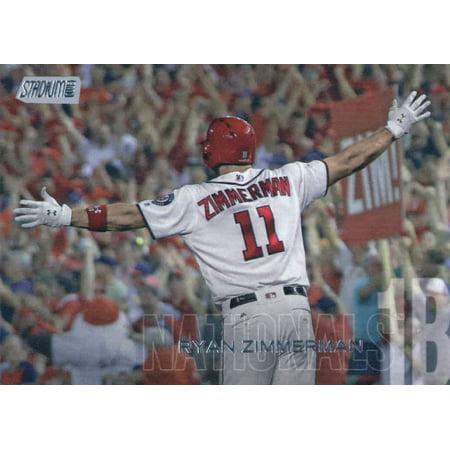 2018 Topps Stadium Club #163 Ryan Zimmerman Washington Nationals Baseball Card - *GOTBASEBALLCARDS ()