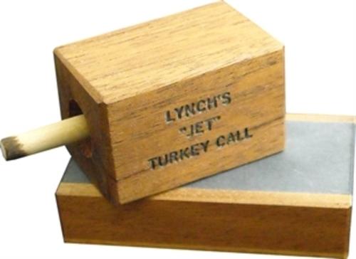 LYNCH SINCE 1940 SPUR HANGER TURKEY BOX CALL USA