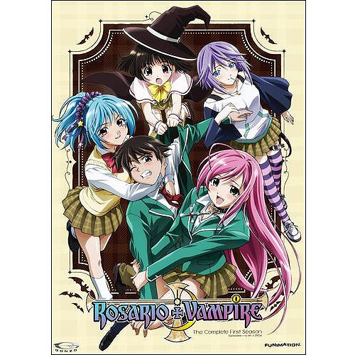 Rosario + Vampire: The Complete First Season