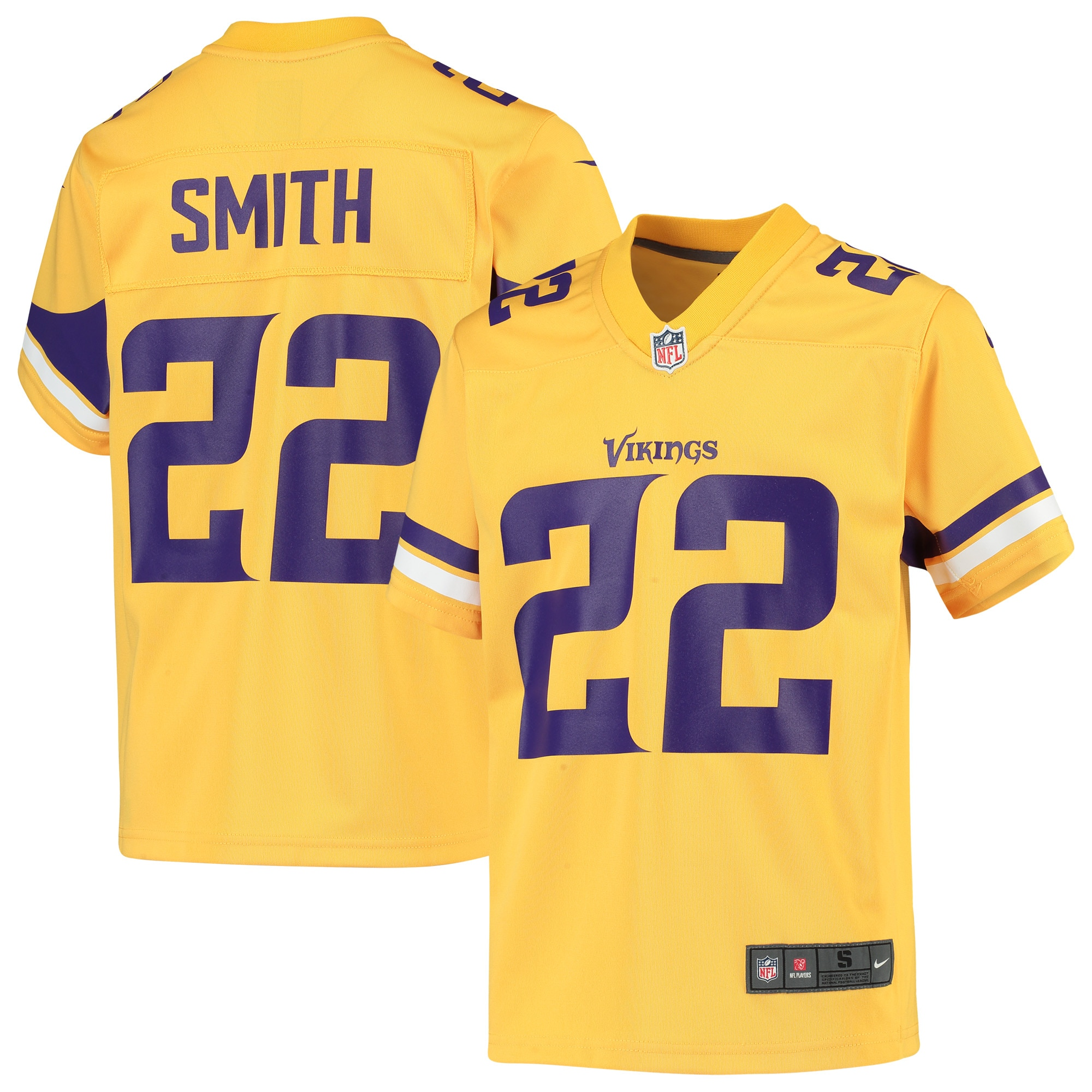 Harrison Smith Minnesota Vikings Nike Youth Inverted Game Jersey - Gold - Walmart.com