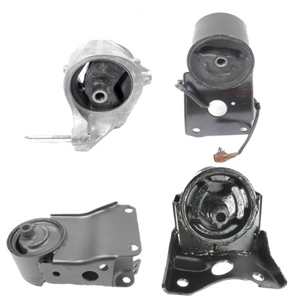 For 03 Nissan Maxima GLE 3.5L 4PCS Set 7306 7321 7338 7303 Engine Motor and Transmission Mount 03