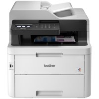 Brother MFC-L3750CDW Compact Digital Color All-in-One Printer, 3.7 Color Touchscreen, Wireless and Duplex Printing