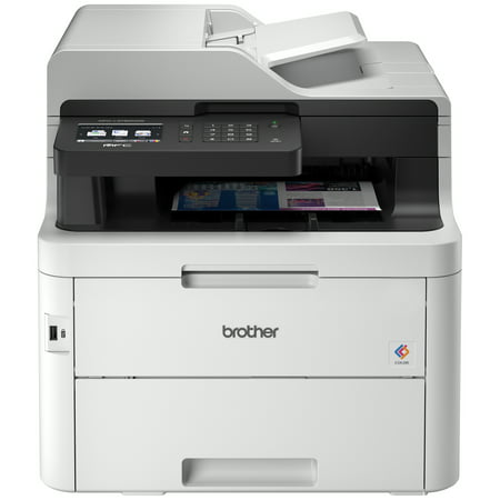 "Brother MFC-L3750CDW Compact Digital Color All-in-One Printer Providing Laser Quality Results with 3.7"" Color Touchscreen, Wireless and Duplex"