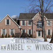 Christmas Yard Decorations: Every Time A Bell Rings an Angel Gets Its Wings Yard Decoration Letters 22pcs with Stakes